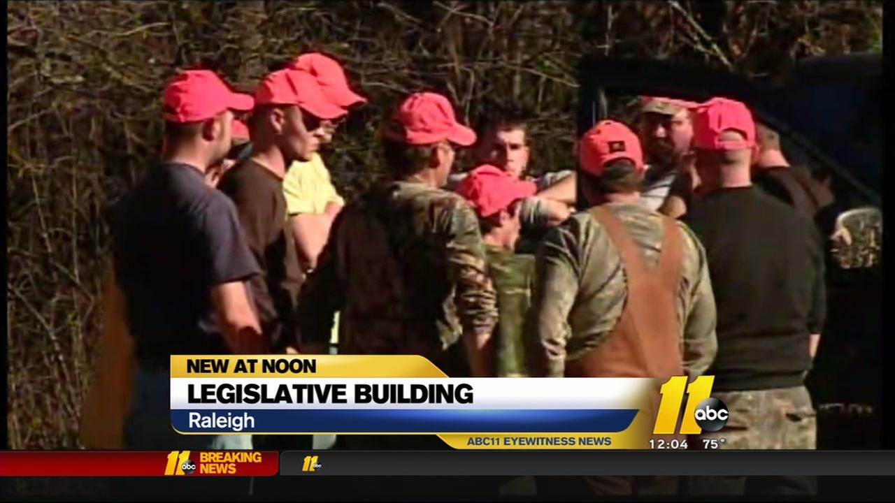 Republican lawmakers push new amendment to protect hunting and fishing rights in NC