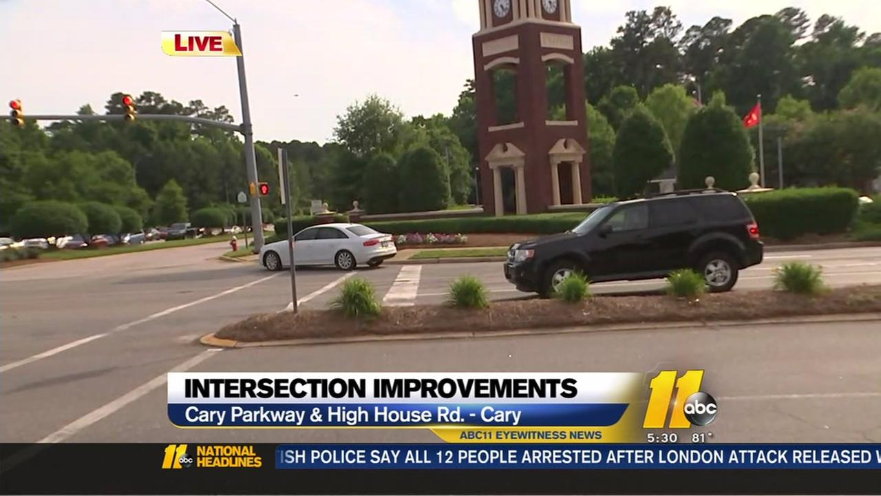 Cary set for intersection improvements