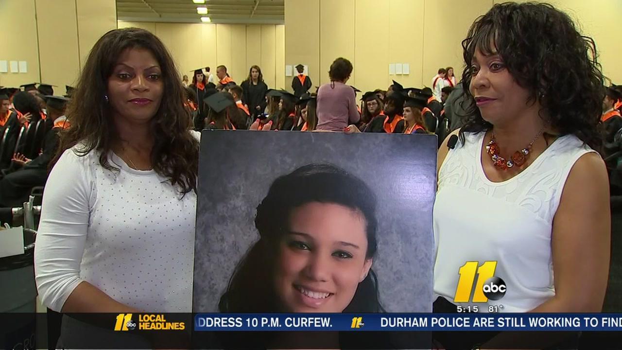 Grads honoring slain classmate