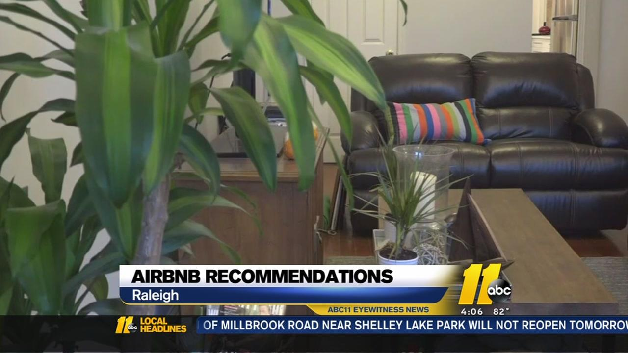 Raleigh still weighing Airbnb recommendations