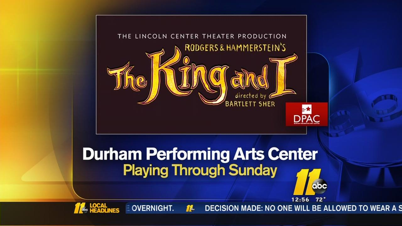 The King and I now playing at DPAC
