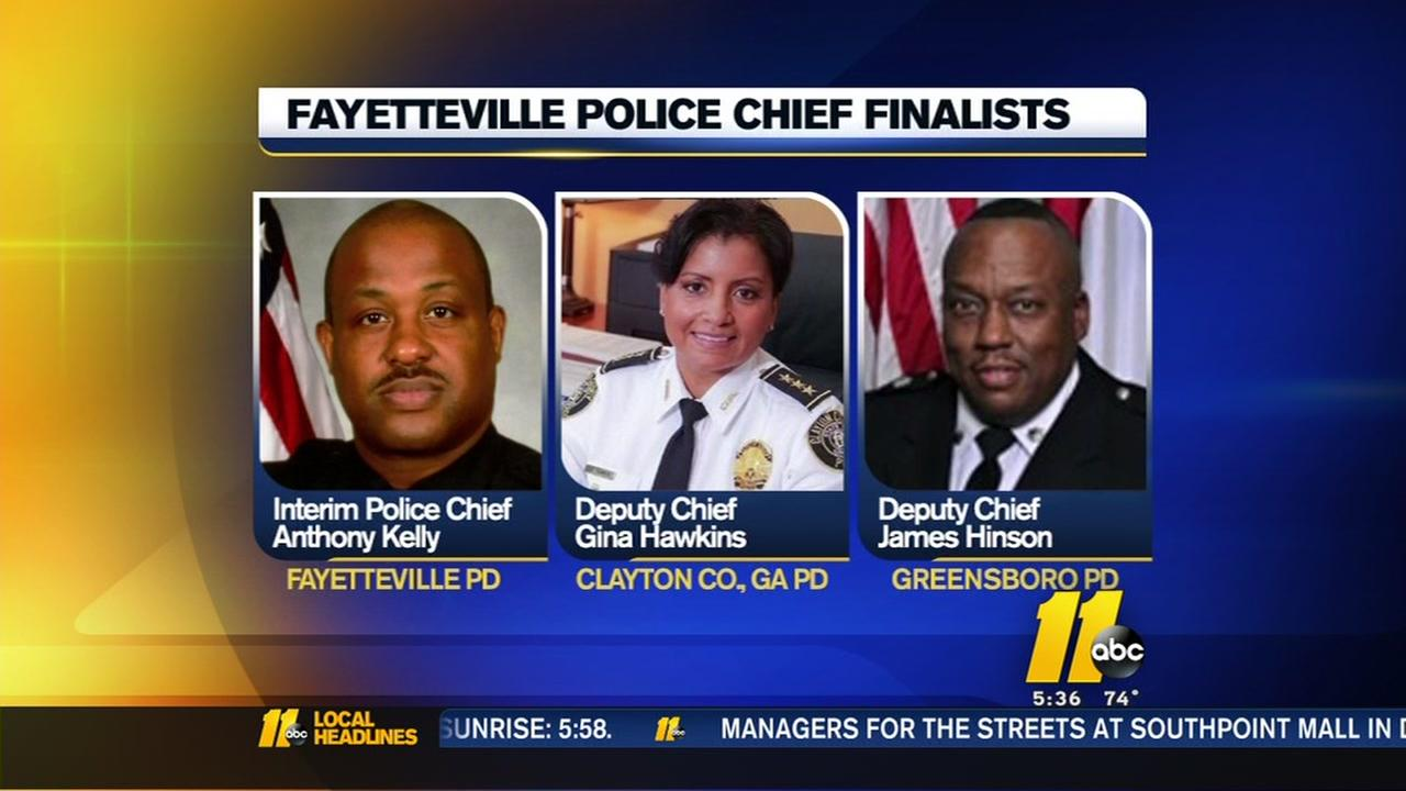 Fayetteville Police Chief job down to three candidates
