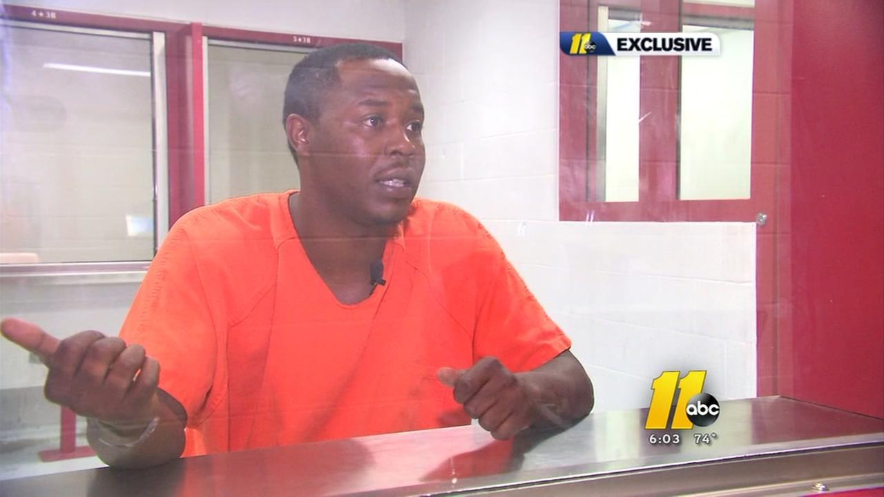 Durham murder suspect speaks out