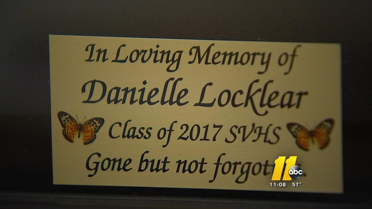 South View graduation remembers Danielle Locklear