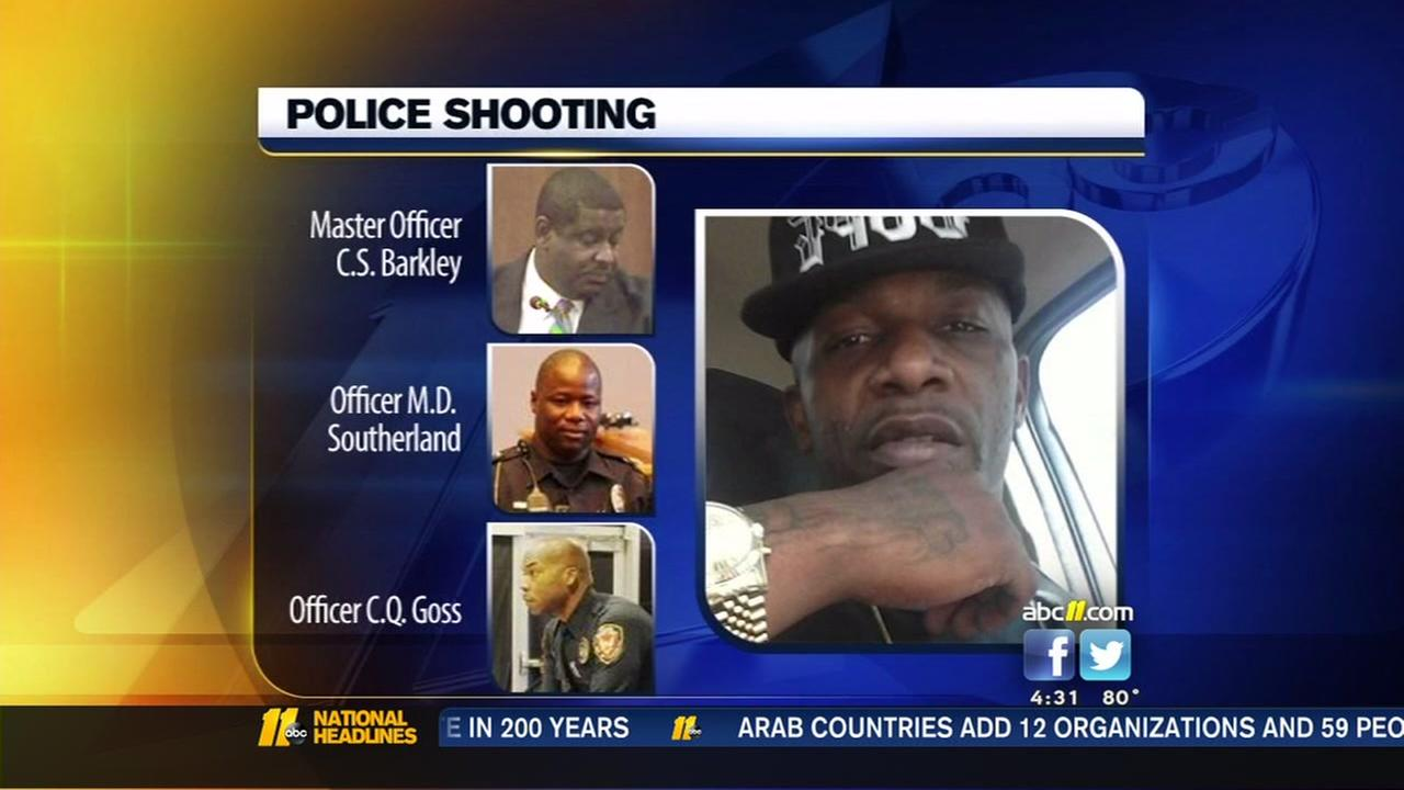 Durham officers cleared in Frank Clark shooting