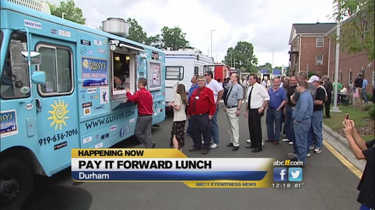 Pay it forward lunch