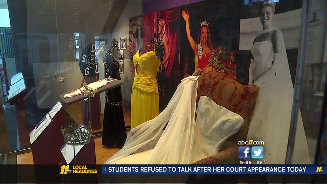 Miss NC exhibit opens at North Carolina Museum of History