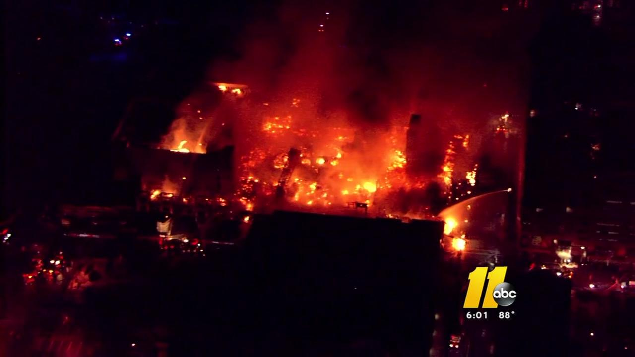 Massive Raleigh fire not a factor at building code meeting
