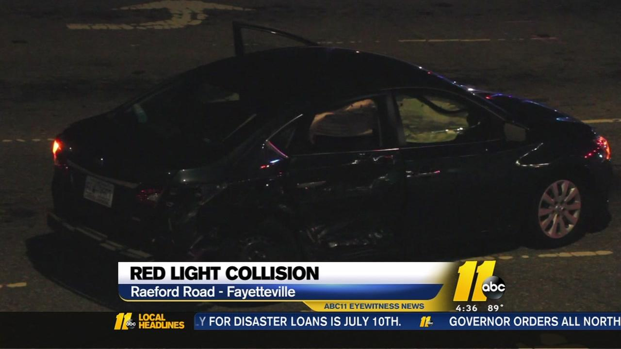 Crash that injured child blamed on red light runner