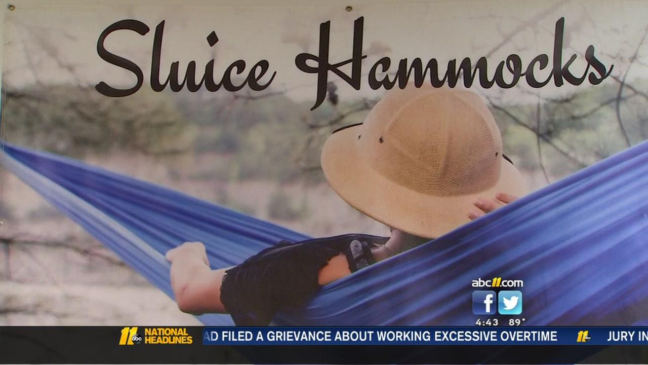 NC State engineer creates Raleigh made hammock