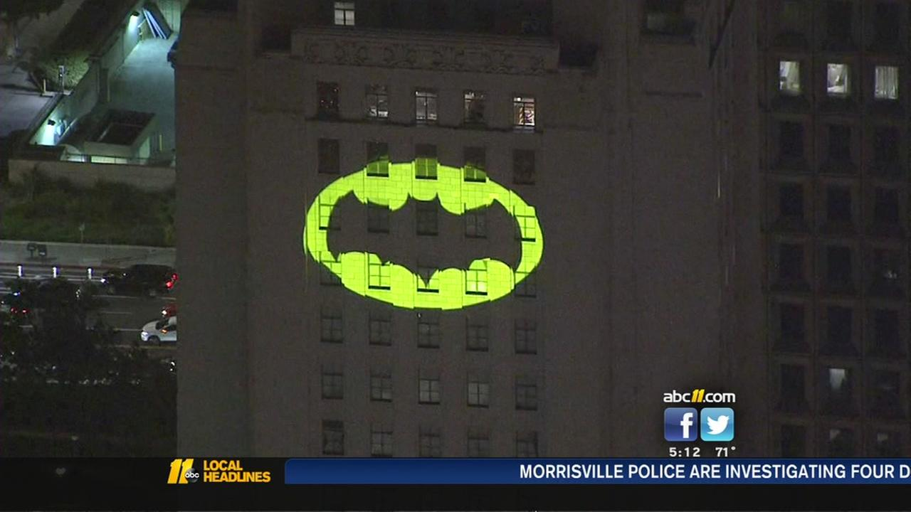 Bat-Signal to light up Los Angeles City Hall in tribute to Adam West