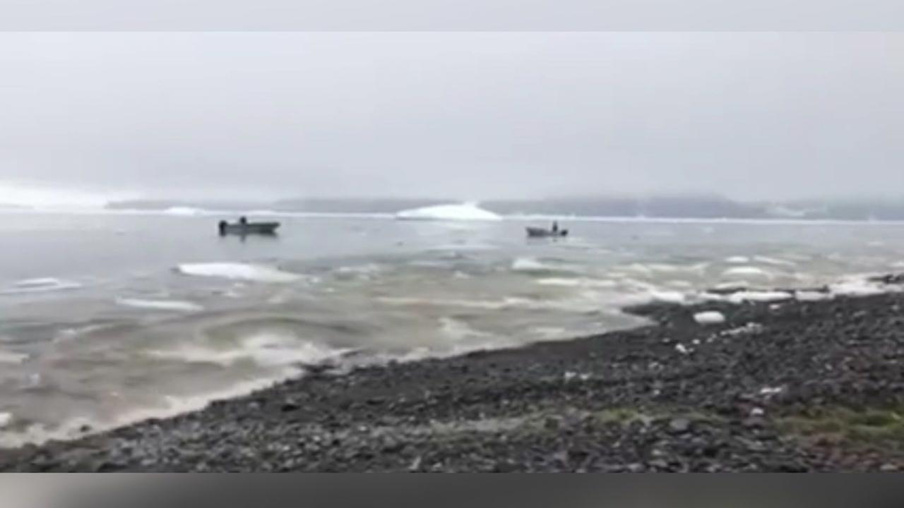 Tsunami hits Greenland