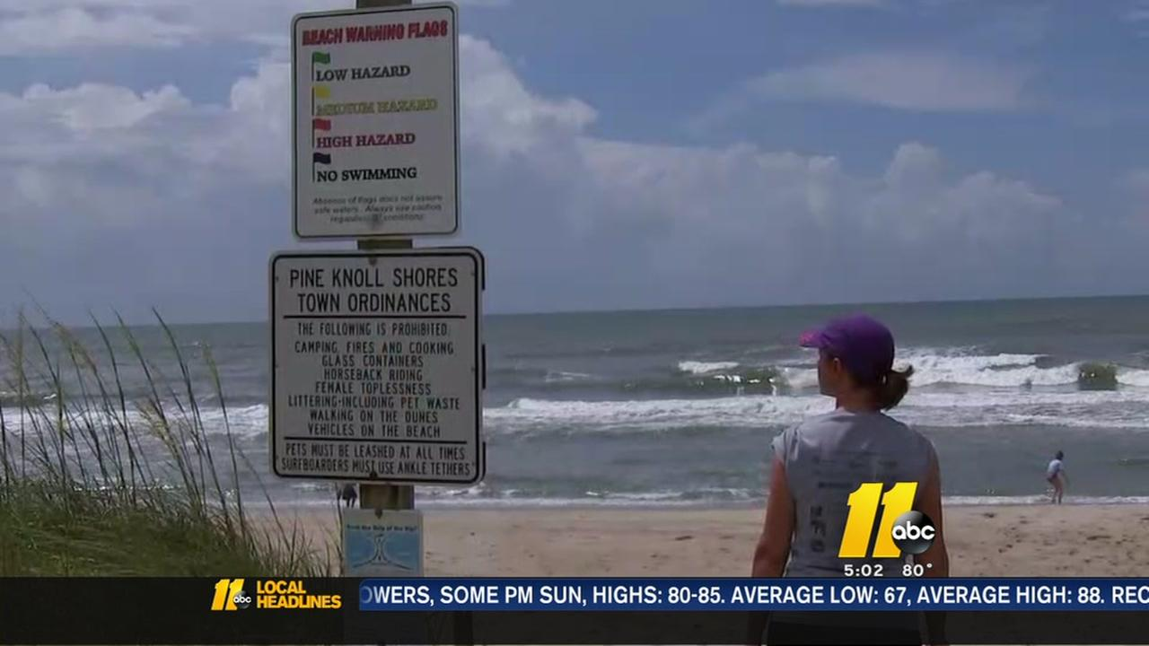 High surf danger means another day of North Carolina beach warnings