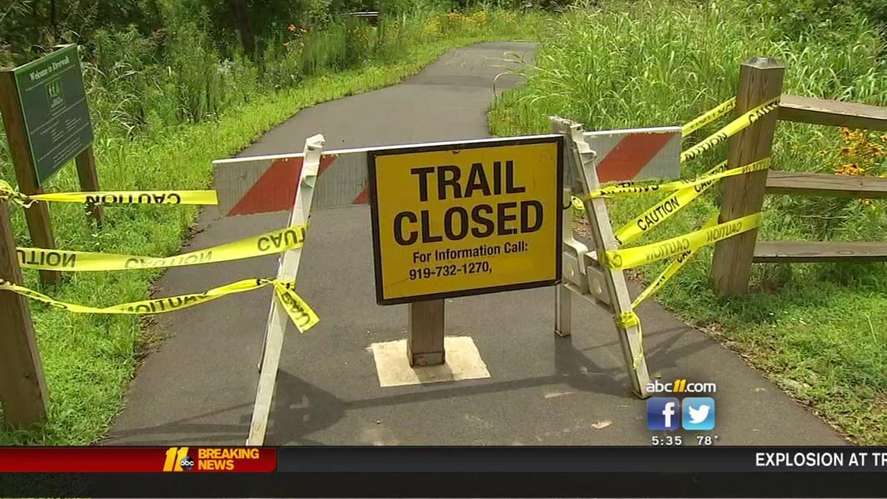 Flooding closes Hillsborough parks, trails