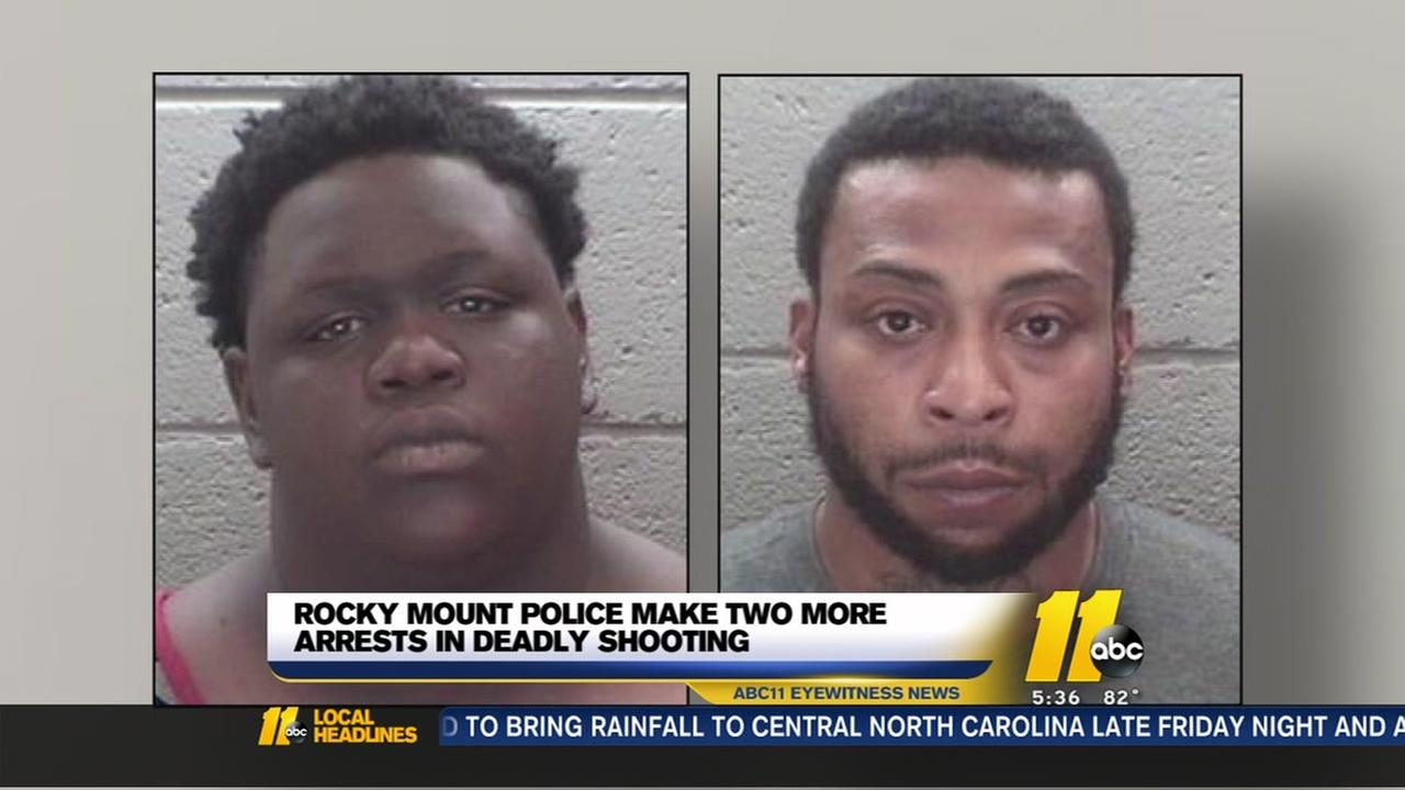 2 more arrested in Rocky Mount hotel shooting
