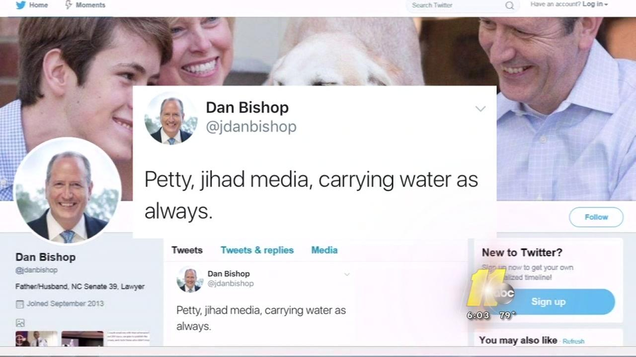 NC lawmaker goes off on jihad media