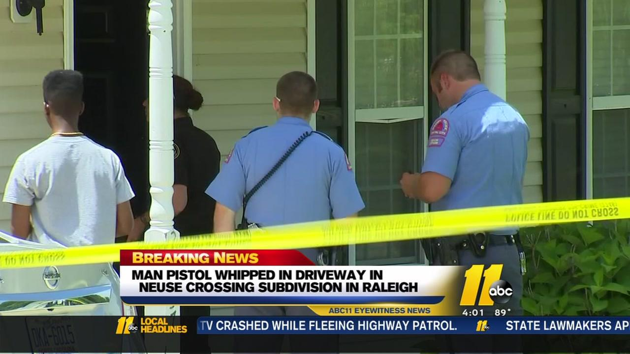 Man pist whipped in Raleigh home invasion