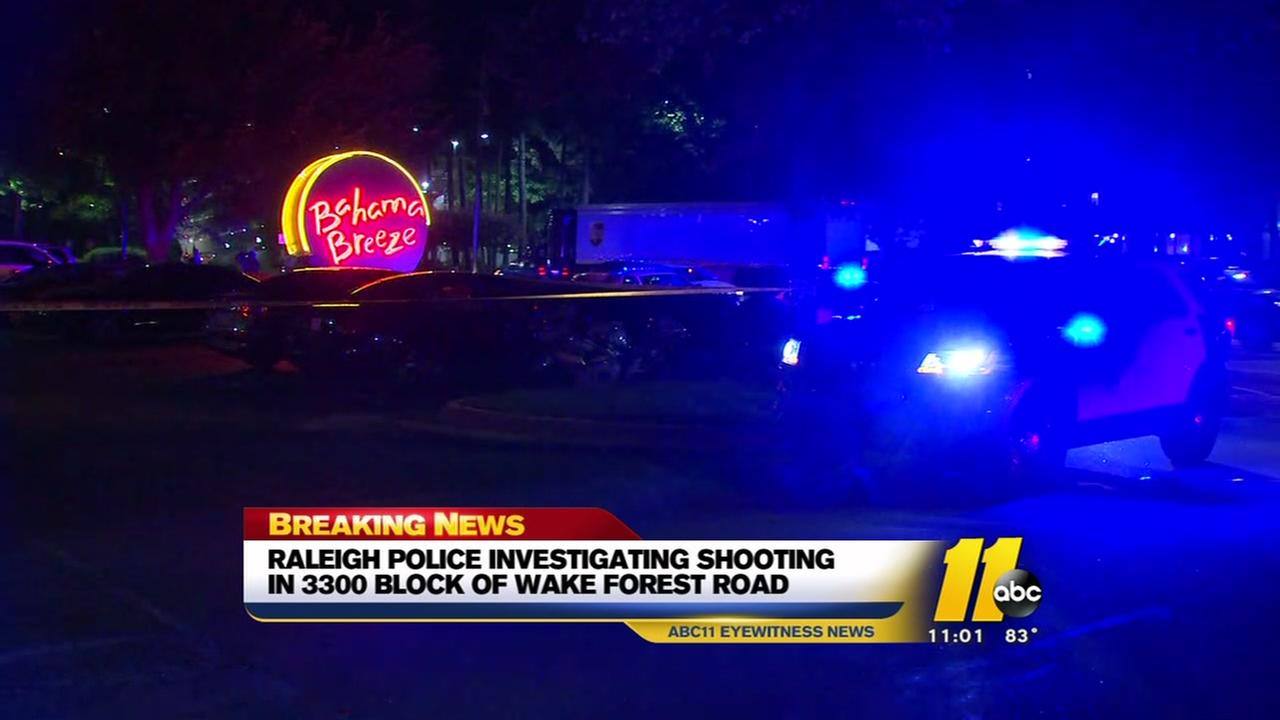 Raleigh Police investigate shooting on Wake Forest Road