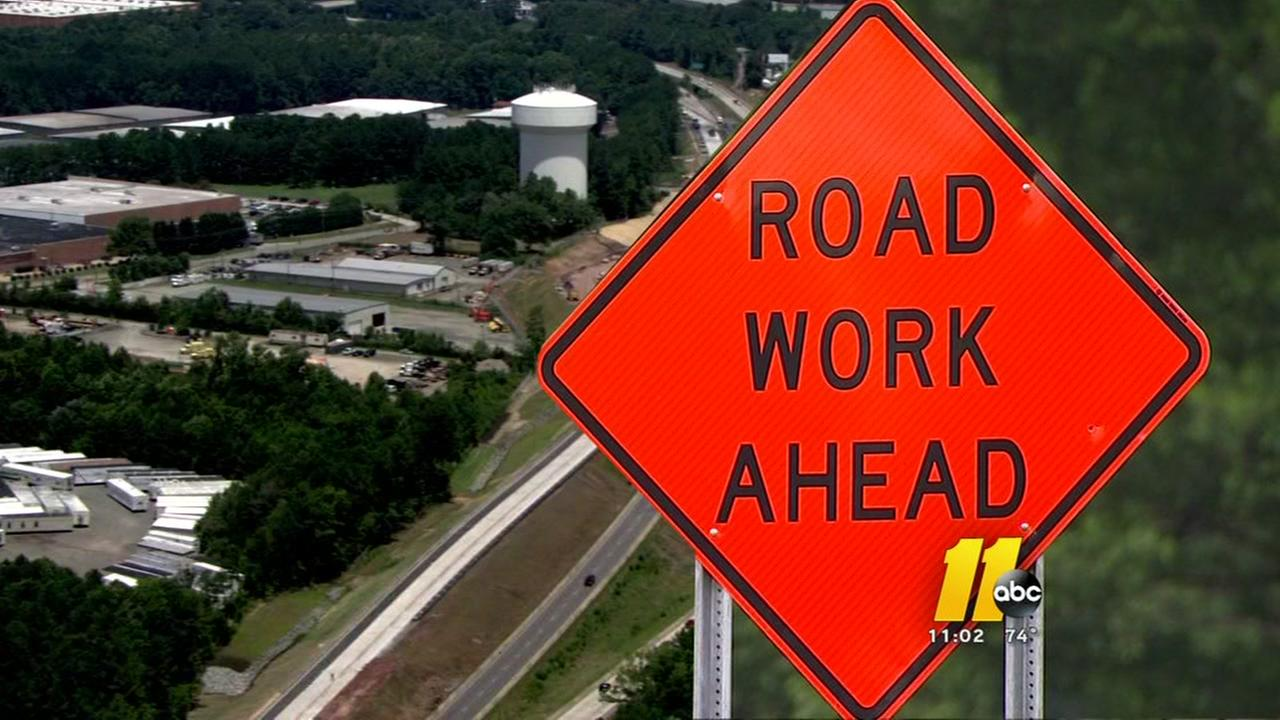 Road closure updates for Raleigh-Durham area