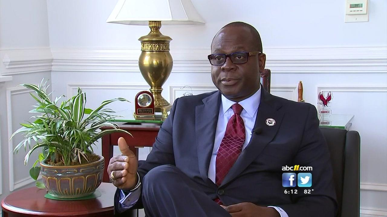 Campus safety a top priority for new NCCU chancellor