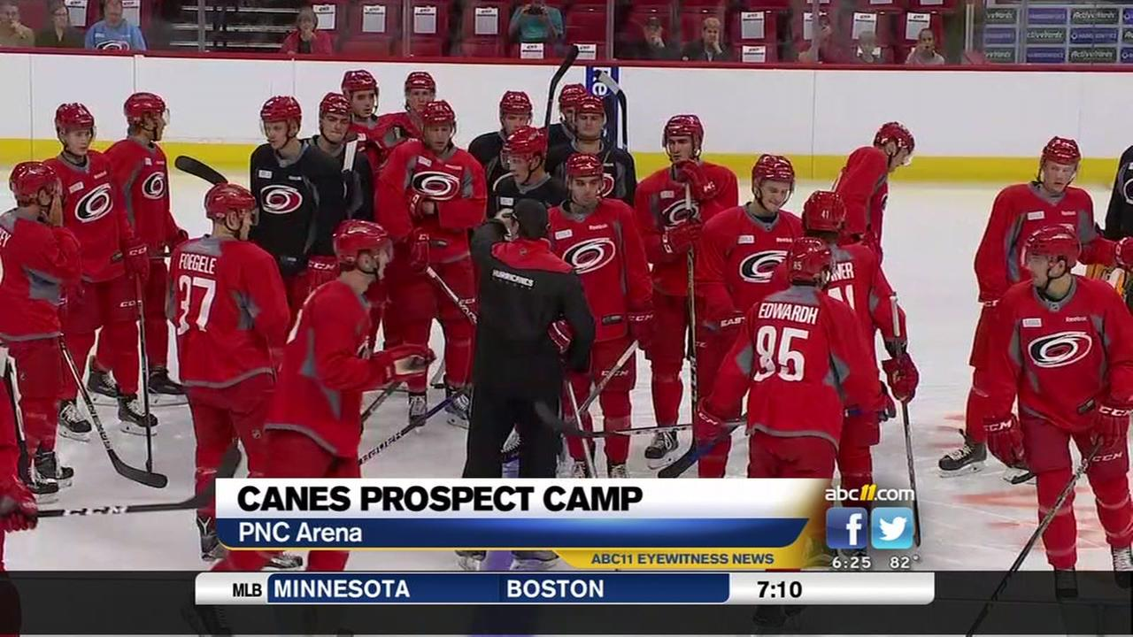 Canes see potential at prospects camp
