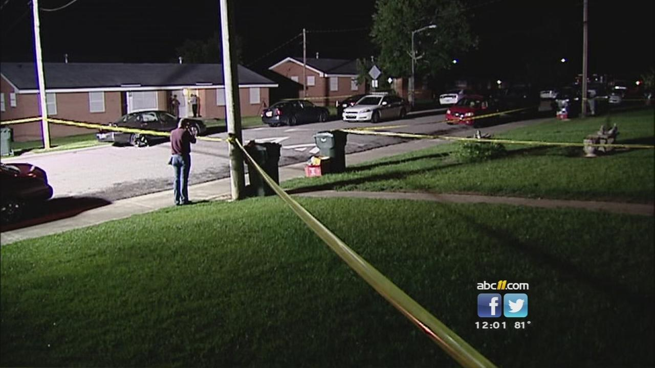 Police investigate the shooting of a 7-year-old boy