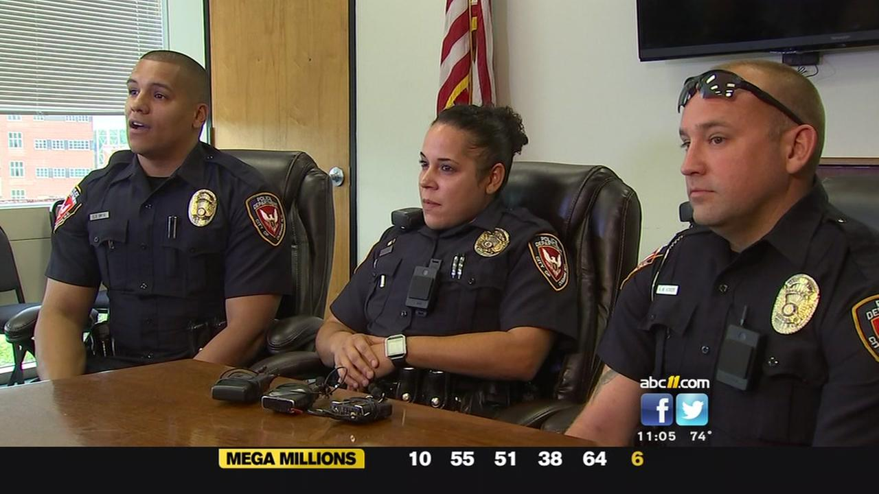 Durham officers who saved women talk about what happened