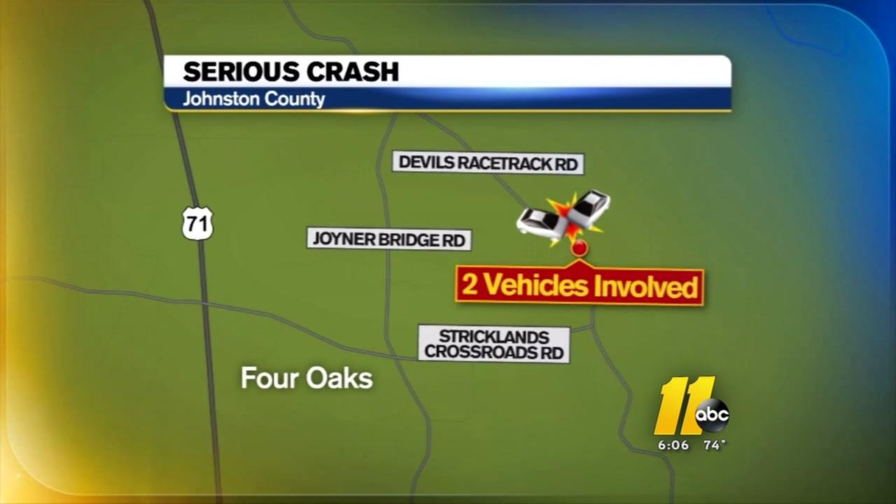 Fatal crash in Johnston County