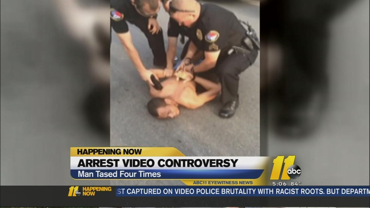 Video of Wake Forest Arrest Raises Questions
