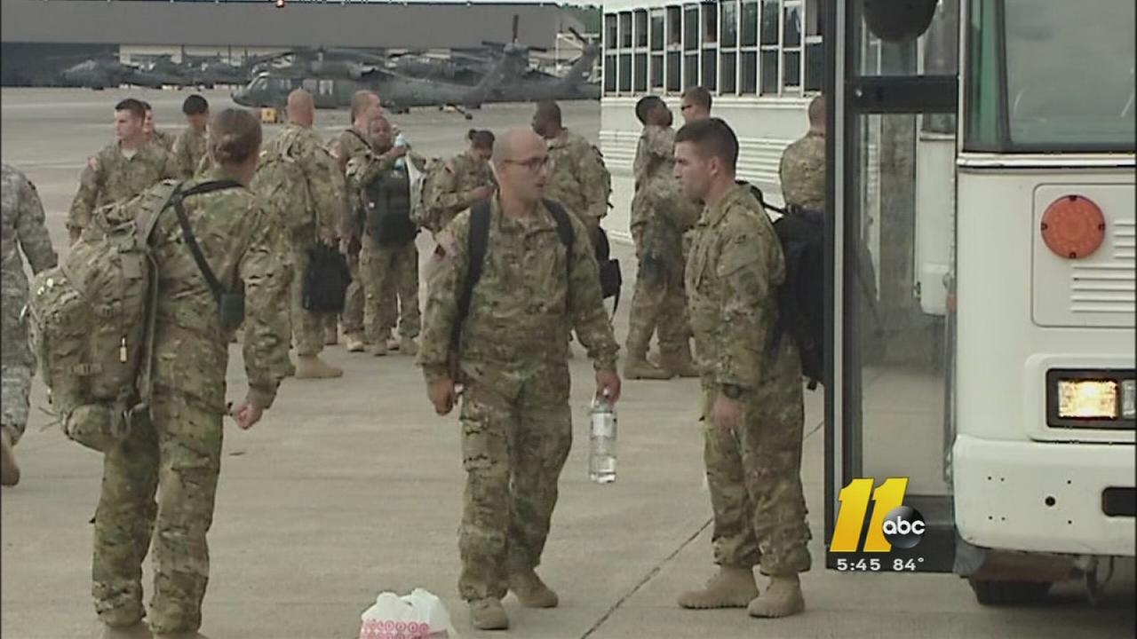 Ft. Bragg soldiers deploy after delays