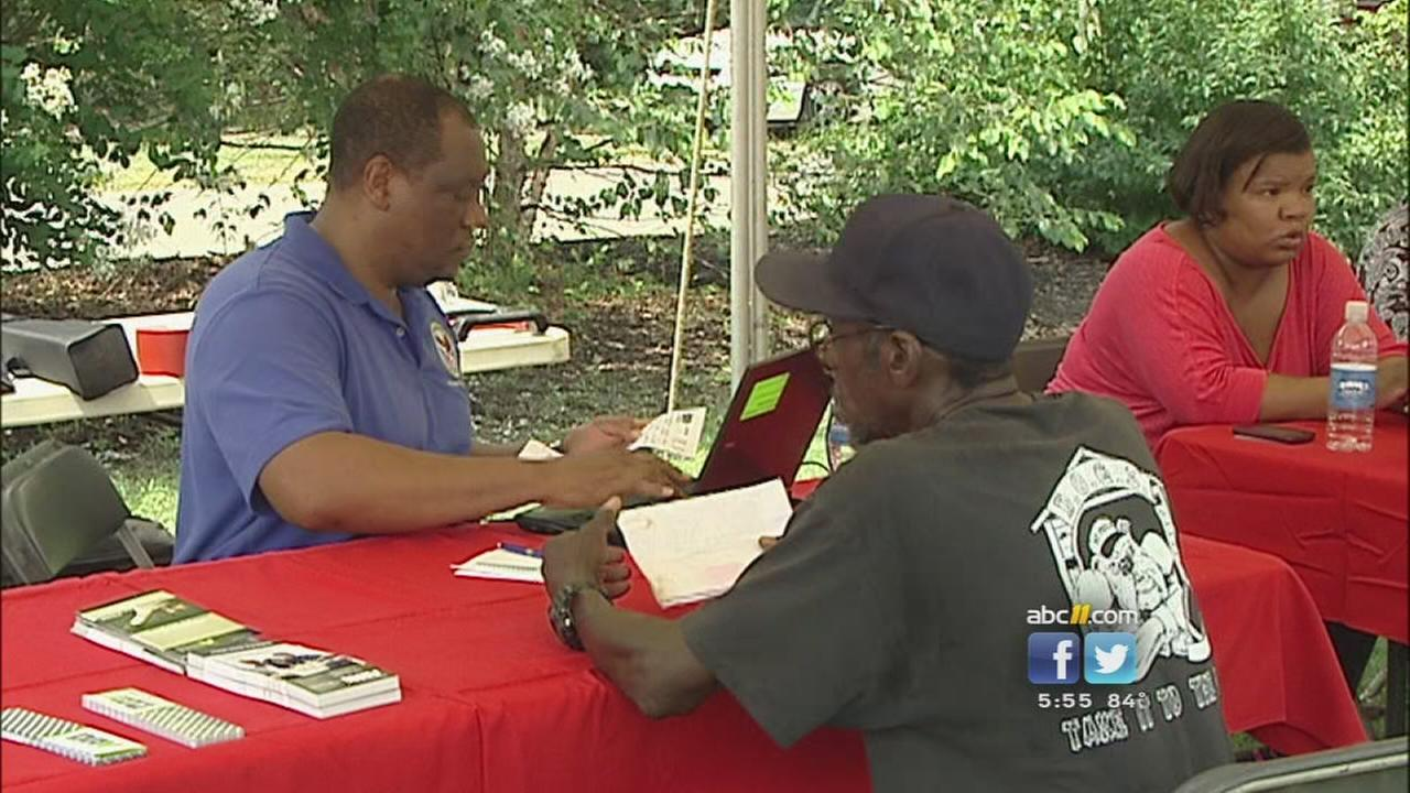 Homeless stand down puts focus on veterans