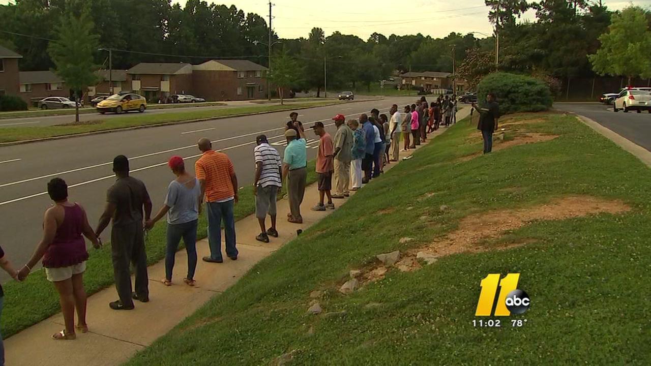 Raleigh community unites to makes their neighborhood safer