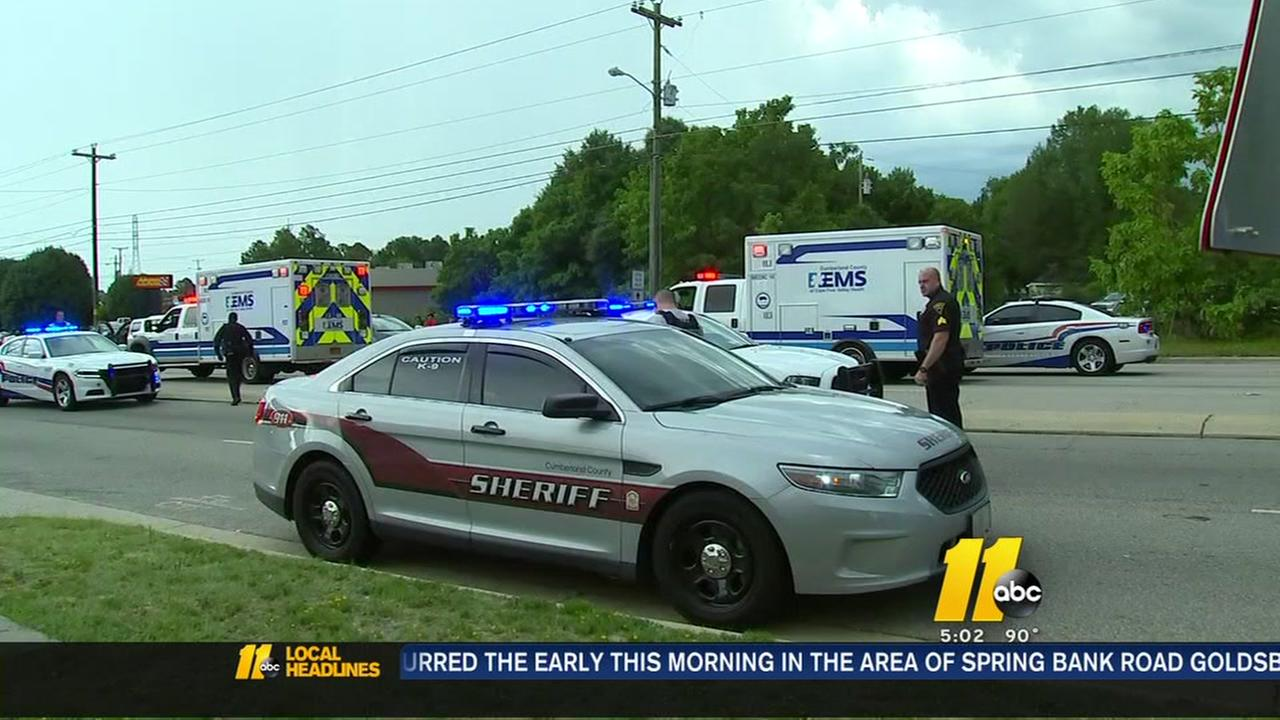 Authorities investigating shooting, crash in Fayetteville