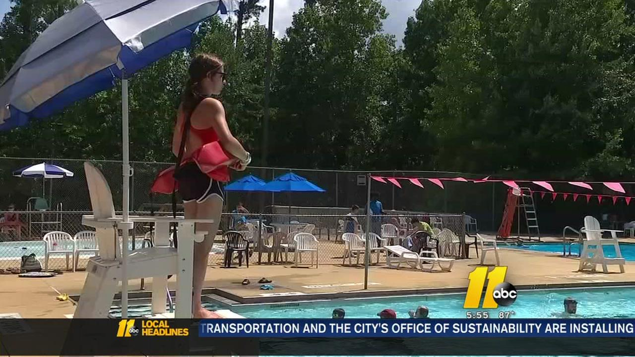 Raleigh says city pools are safe