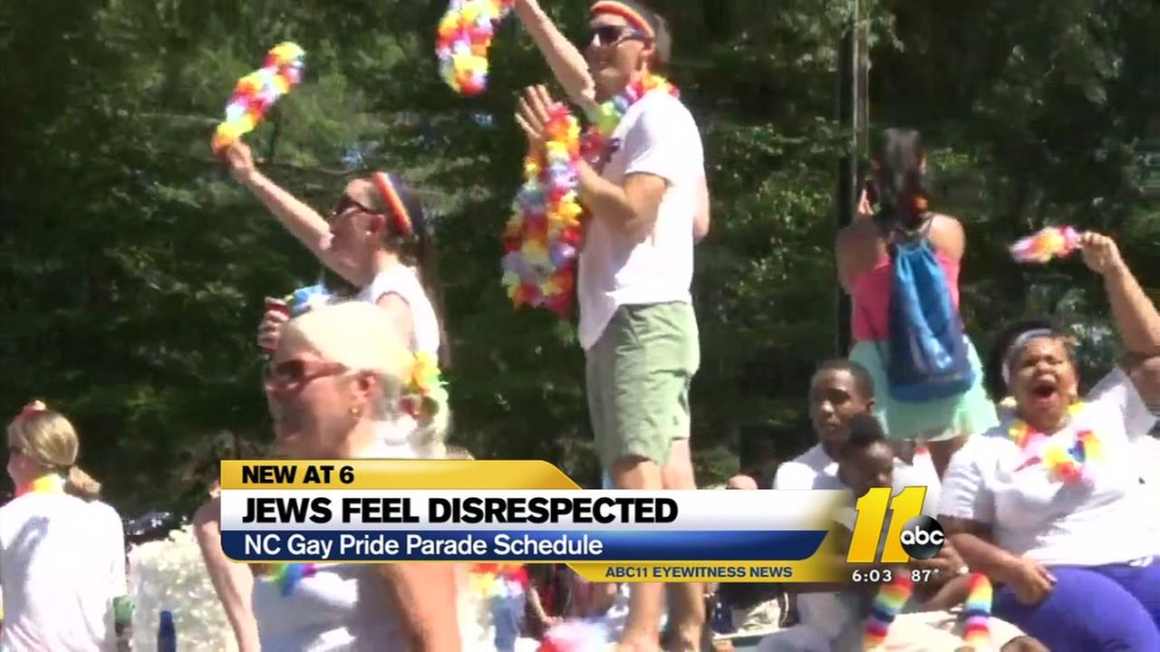 NC Pride event conflicts with Jewish holiday