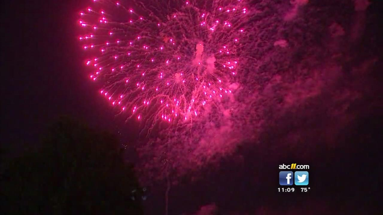 Garner celebrates the Fourth a day early