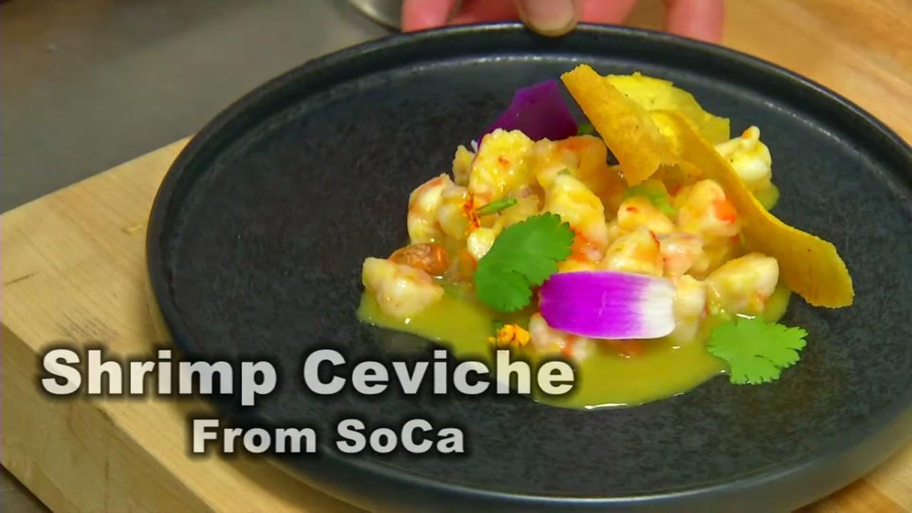 Local Chef Recipe: Shrimp Ceviche from SoCa
