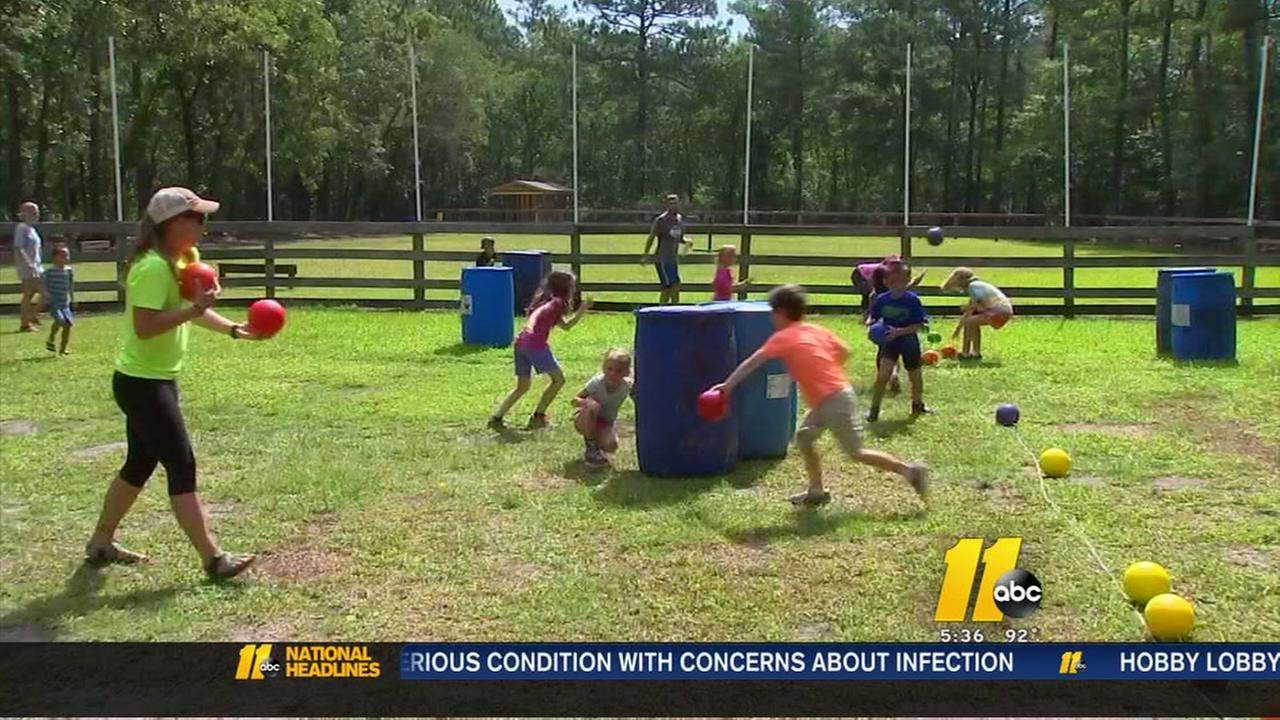 Camp Rockfish brings smiles, lessons to military children