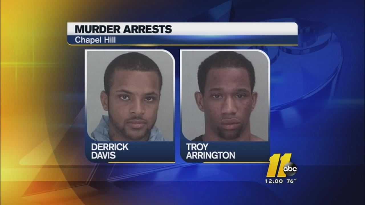 Derrick Davis and Troy Arrington are charged