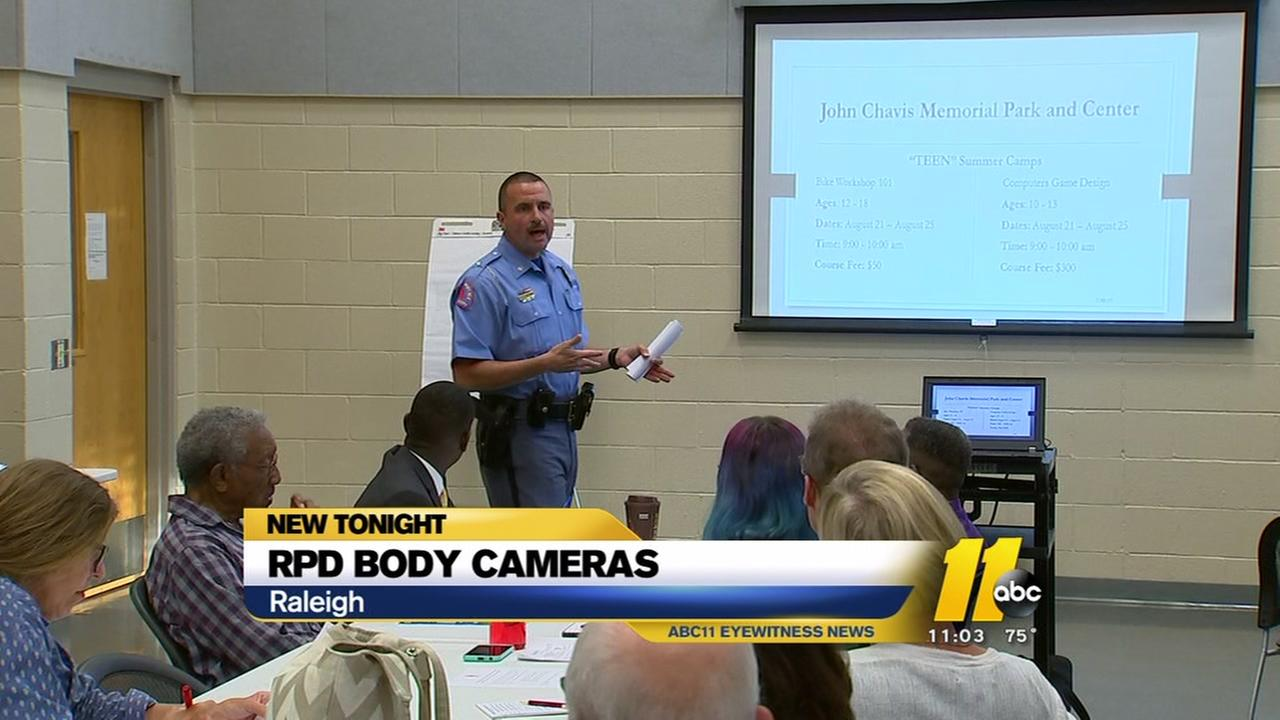 Raleigh Police talk body cams