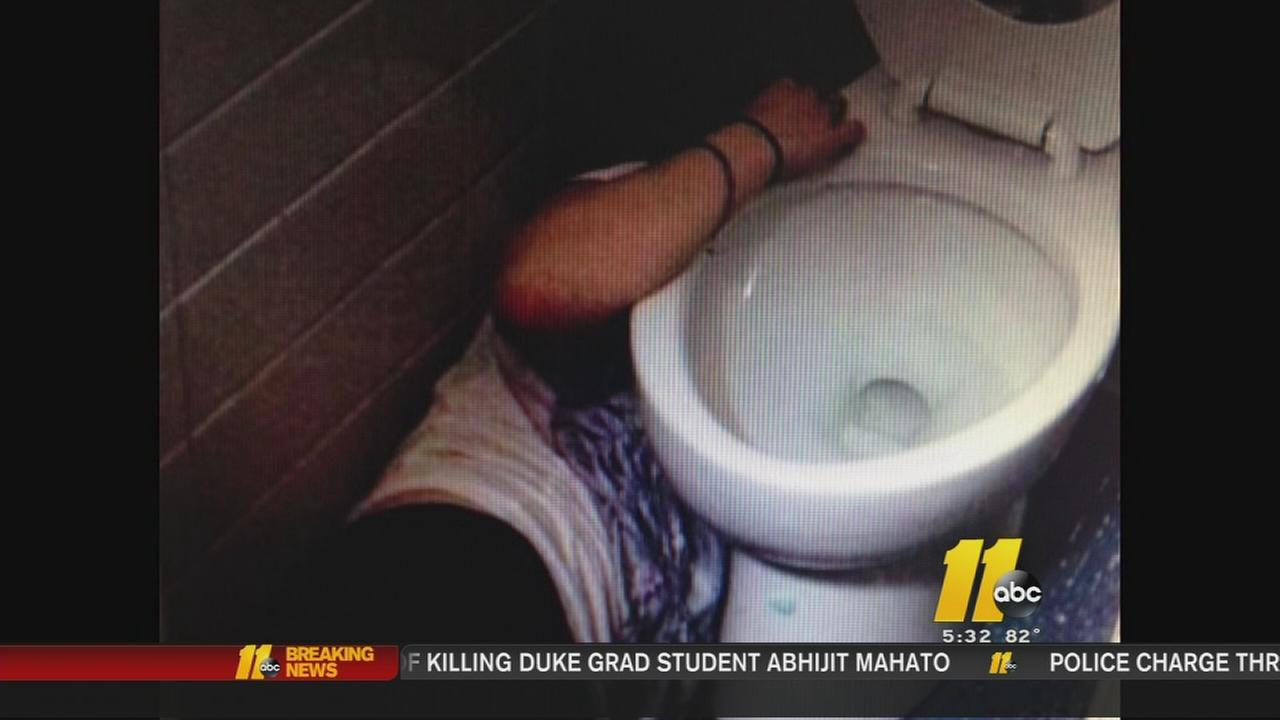 Twitter page shows NCSU students passed out