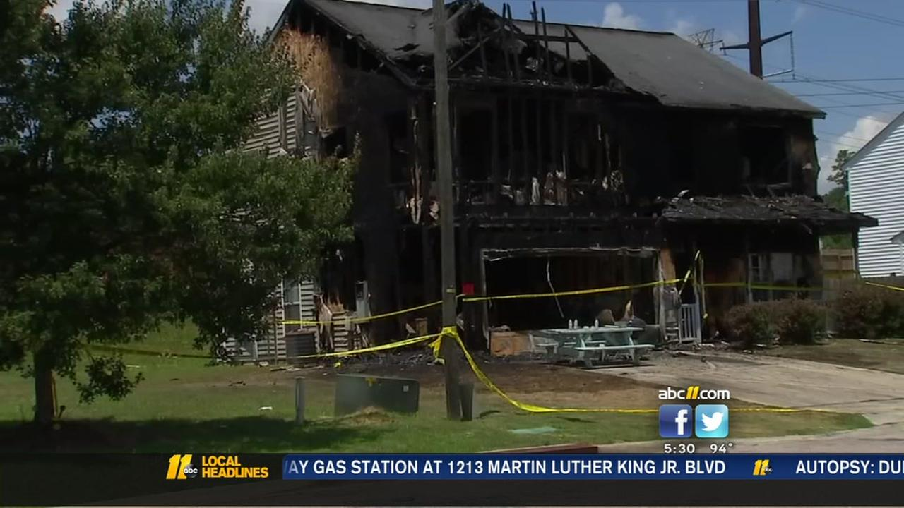 Raleigh family loses home to fire