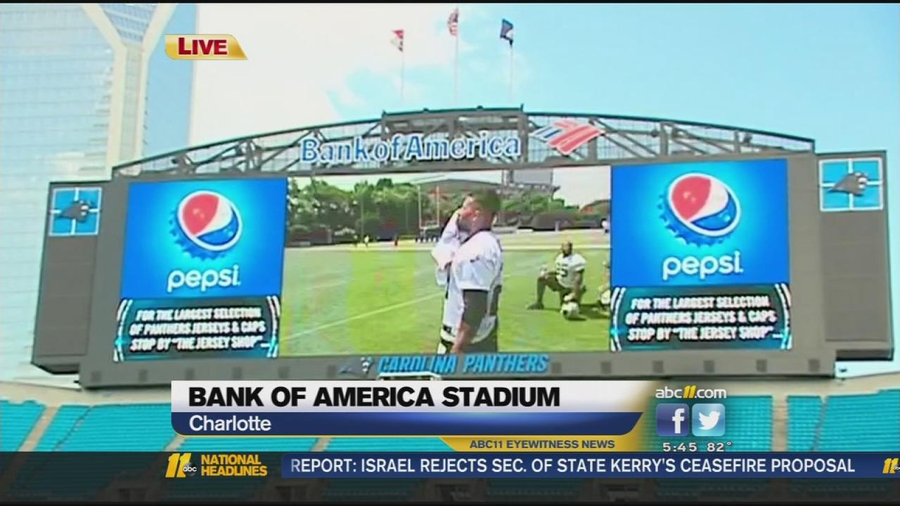 Panthers unveil 2014 team, stadium upgrades