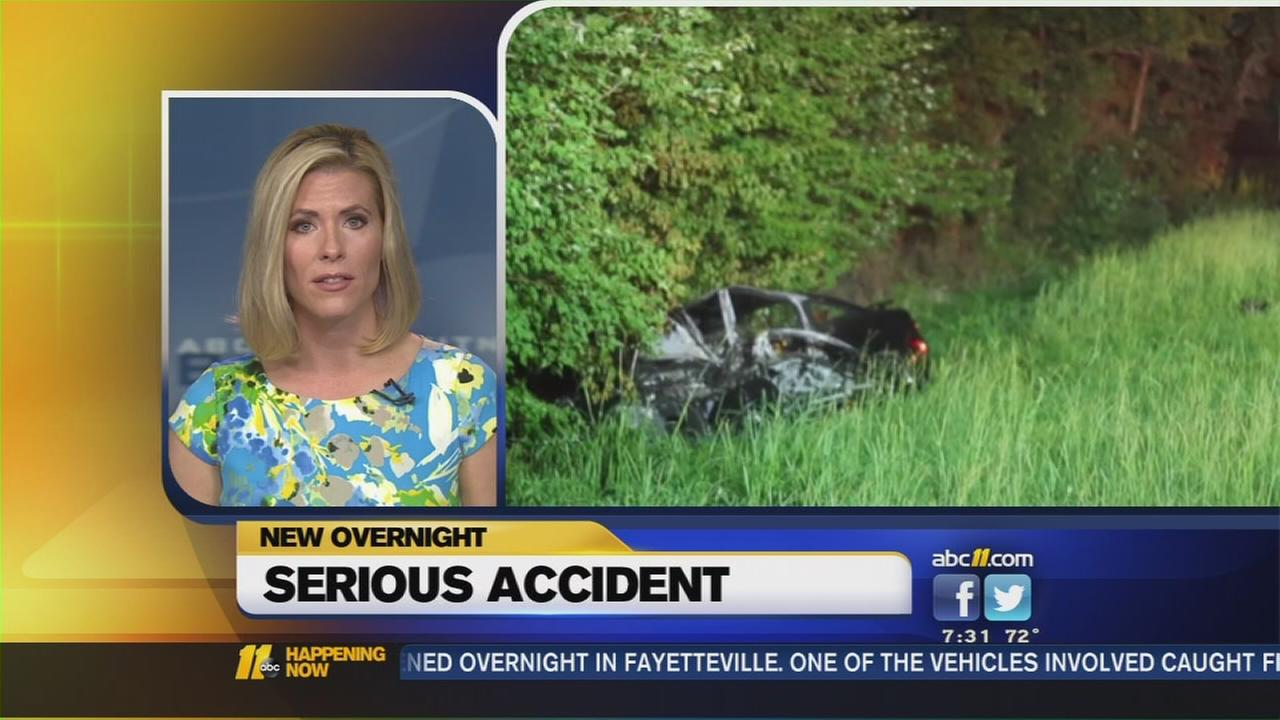 Serious accident in Fayetteville
