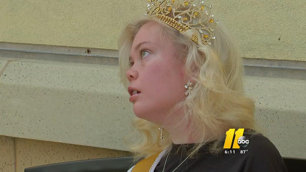 Special needs pageant winner gives back to kids in need