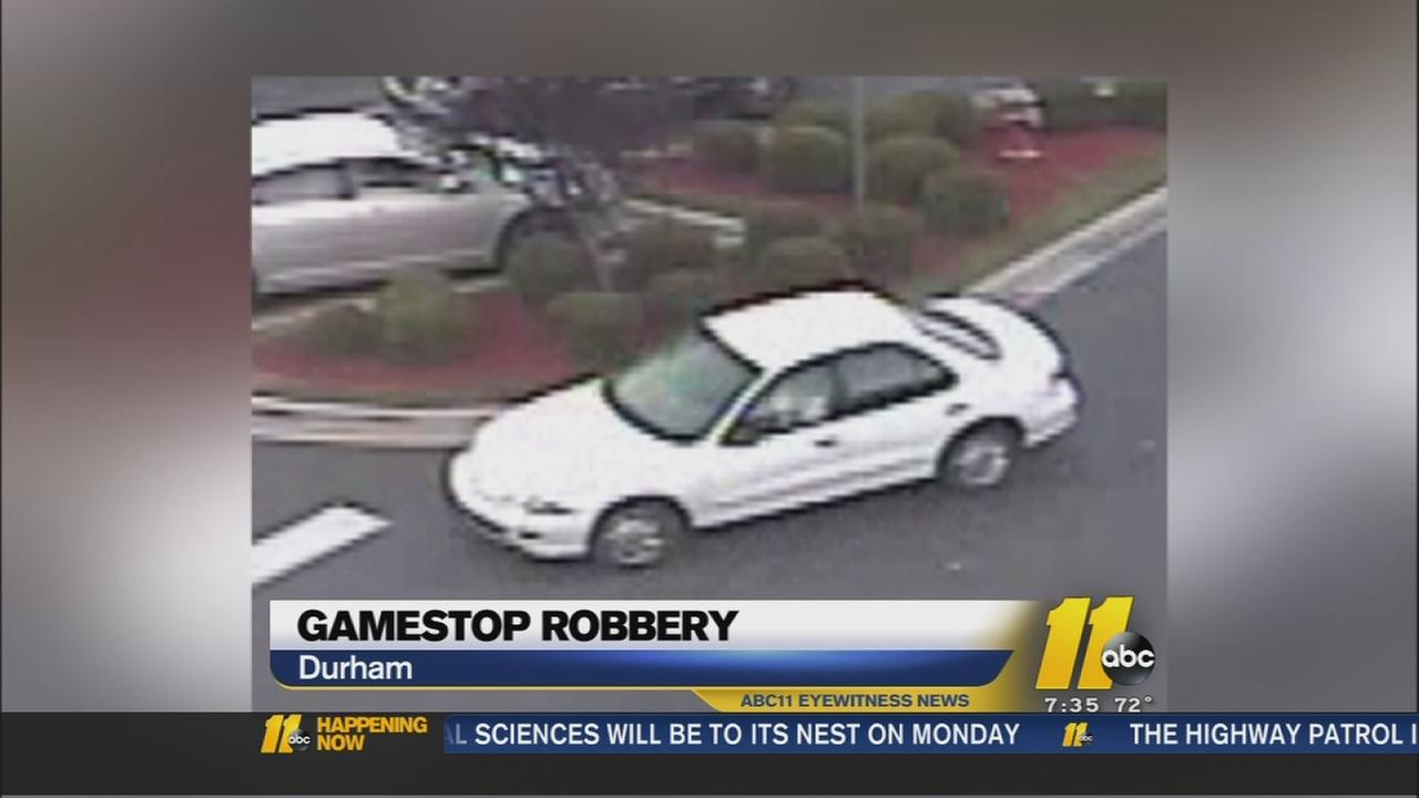 Durham police search for robber
