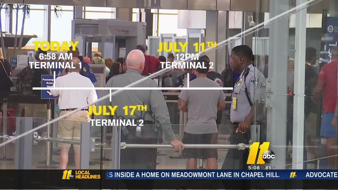 Fire alarms confusing RDU travelers