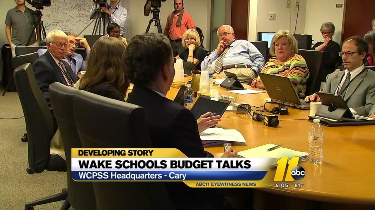 Wake Schools budget talks