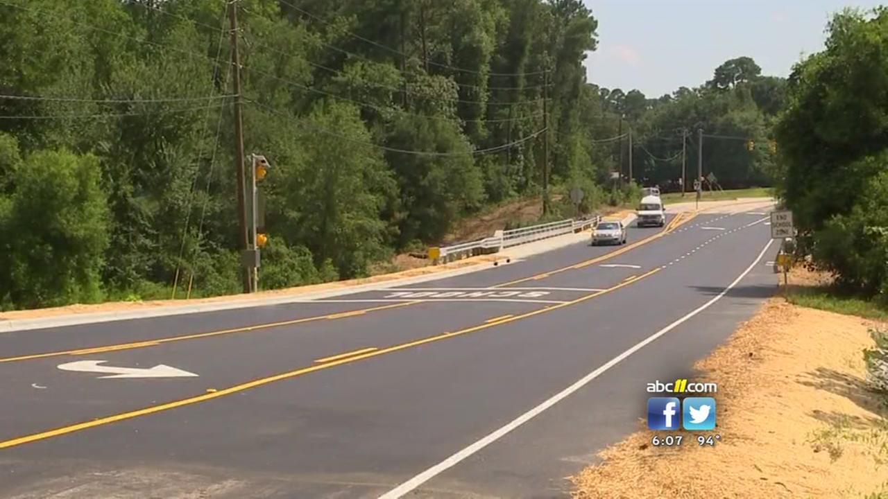 Bingham Drive reopens in Fayetteville