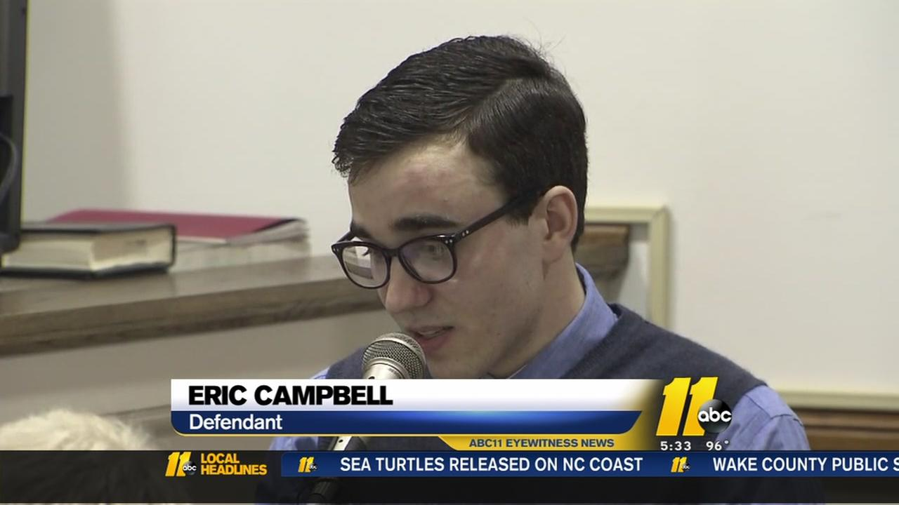 Eric Campbell takes the stand